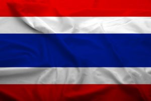 Flagge Thailand