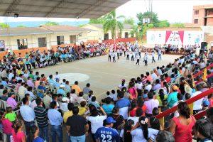 Schulfest in San José